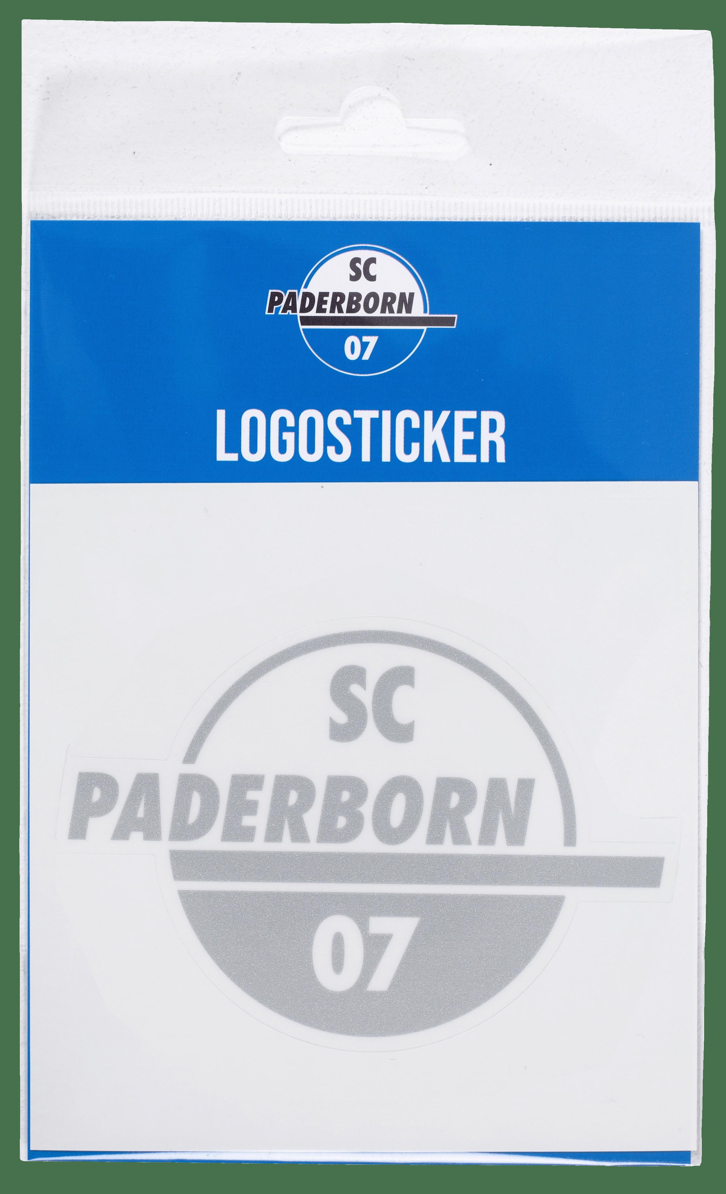 Aufkleber Logo silber