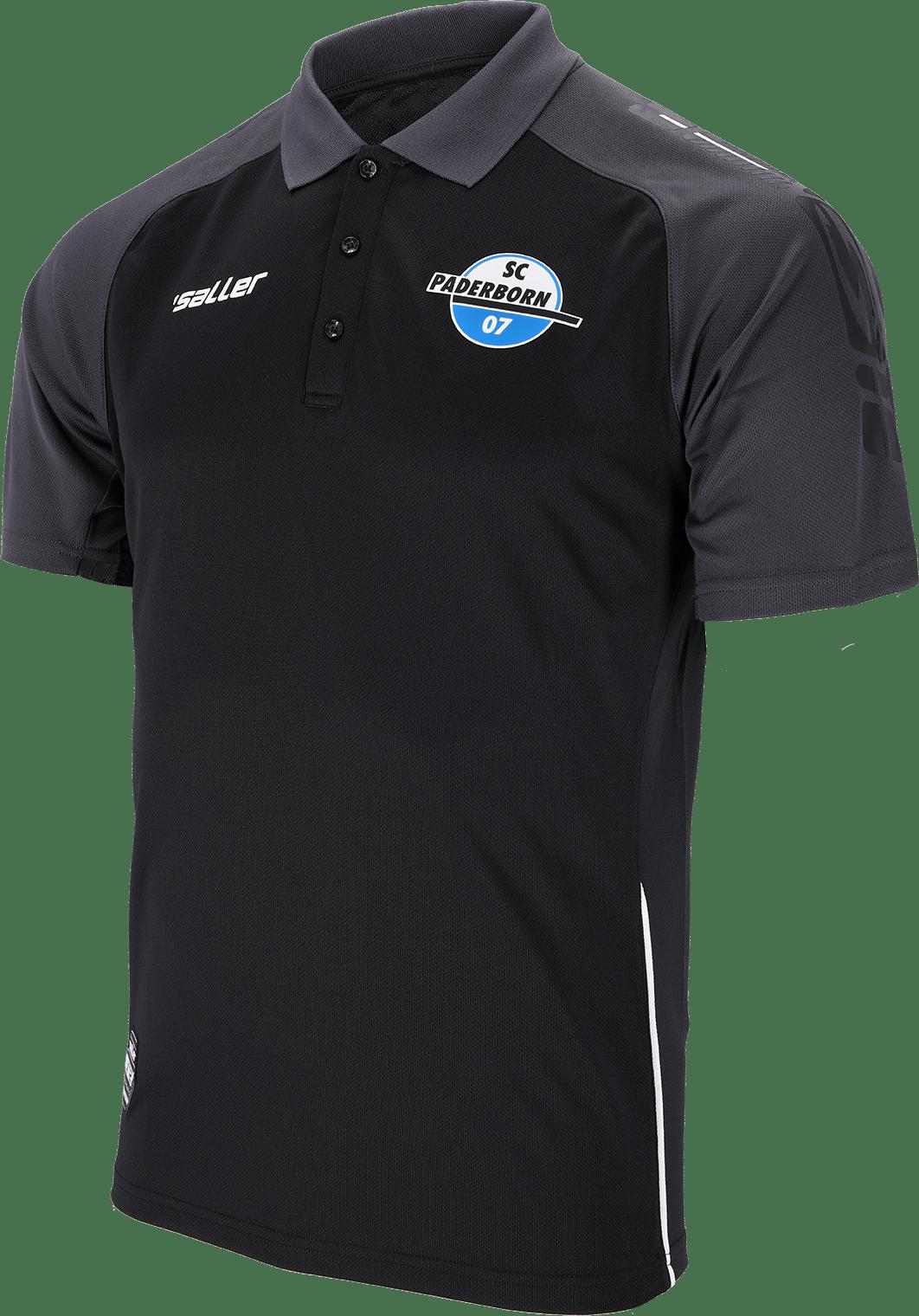 Team-Poloshirt schwarz 21/22
