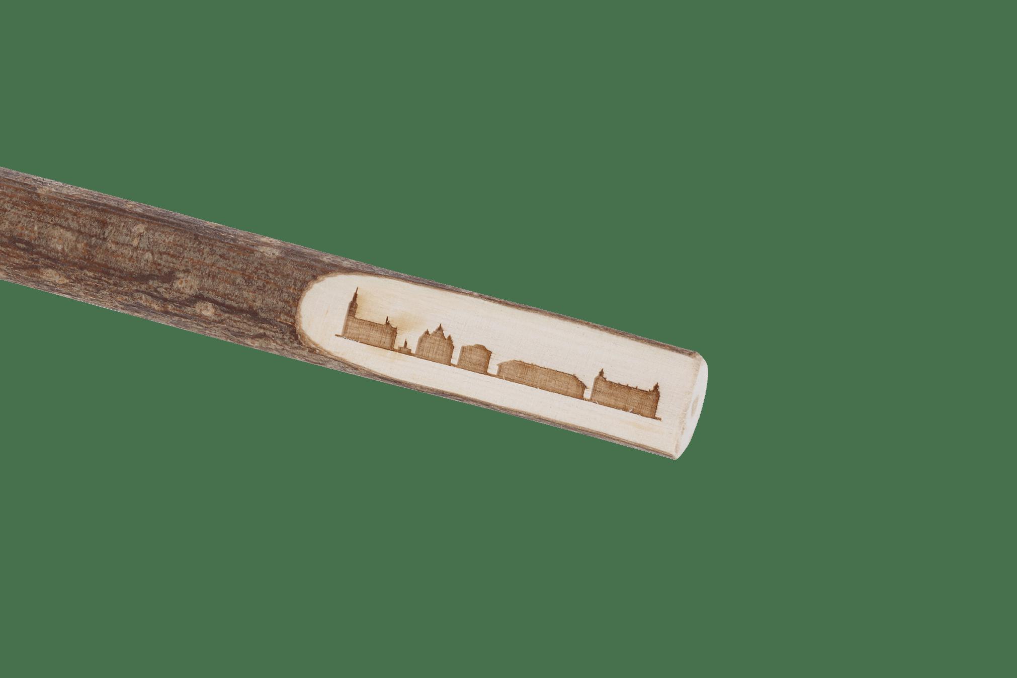Kugelschreiber Skyline Holz