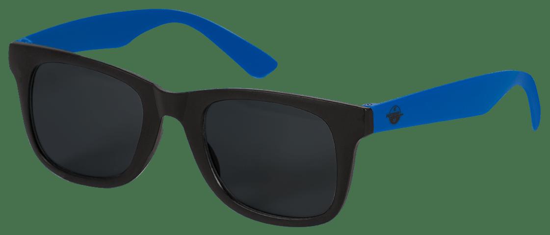 Sonnenbrille schwarz-blau
