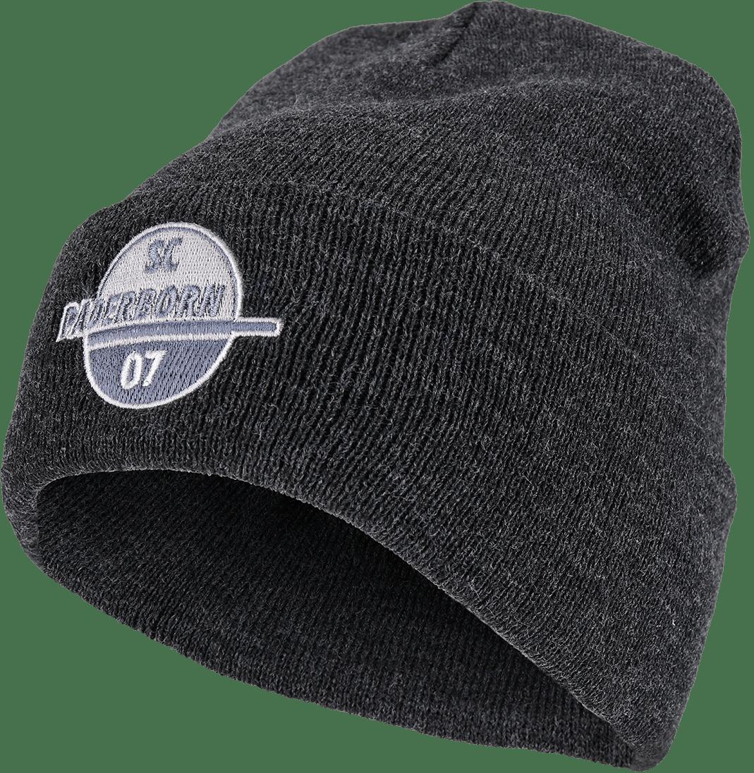 Bronx-Mütze Logo grau