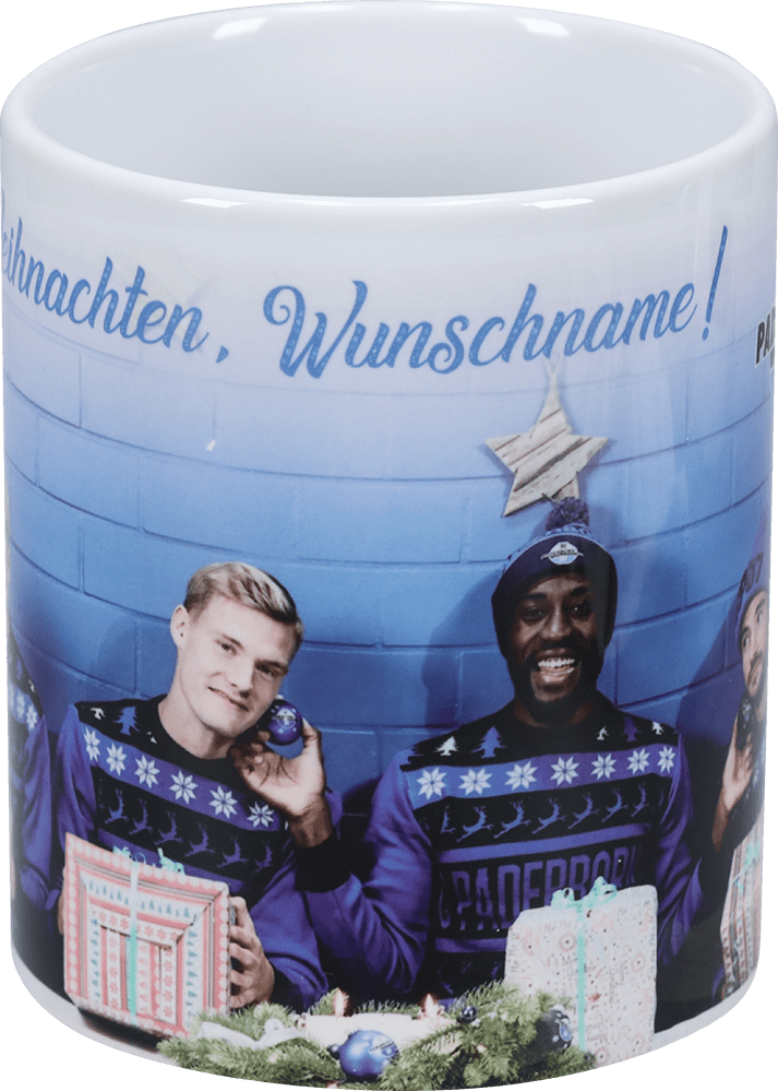 Personalisierbare Tasse Weihnachten Spieler