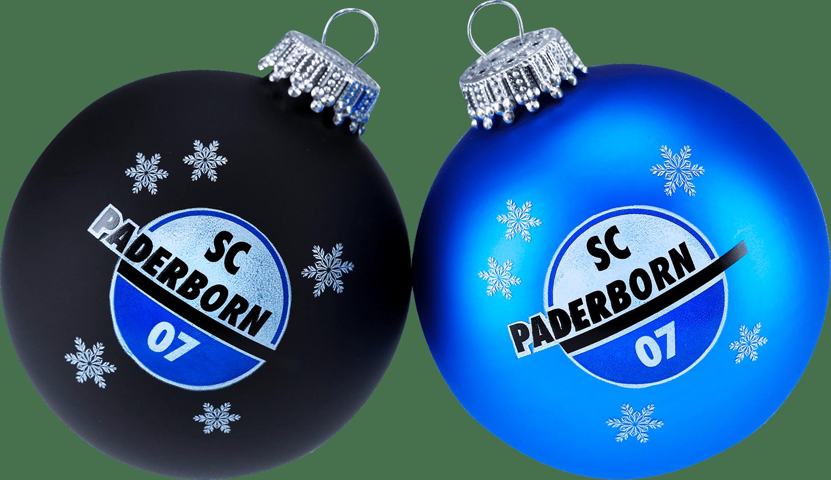 Weihnachtskugeln 2er-Set